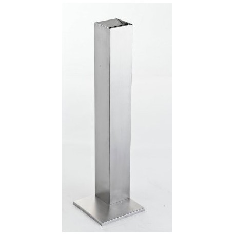 Stainless steel ashtray for Outdoor Qvadrat 80
