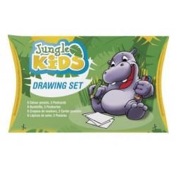 Set de desenat Jungle Kids